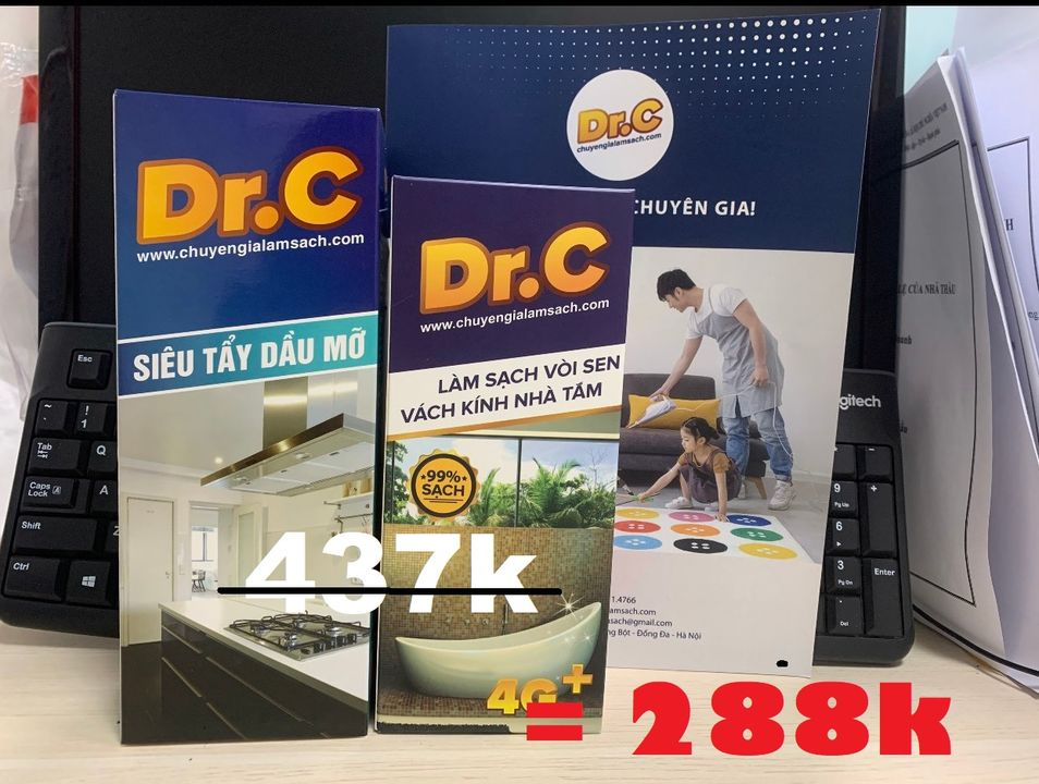 [XẢ KHO] TẶNG NGAY 150K / #COMBO DRC - sản phẩm #tẩy_rửa #Gia_dụng bán chạy nhất #HÀ_NỘI