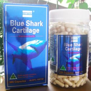 Viên uống sụn vi cá mập shark cartilage 750mg của Úc