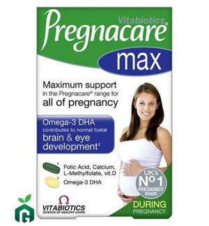 VIÊN BỔ SUNG VITAMIN CHO PHỤ NỮ MANG THAI PREGNACARE – 84 VIÊN - HÀNG CỦA ANH