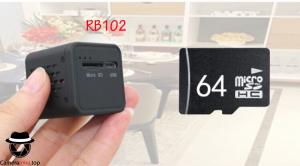 CAMERA MINI HỒNG NGOẠI IP WIFI RUBIC RB102