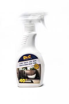 Dung Dich Tẩy Cặn Canxi, Làm Sạch Vòi Sen Inox, Cabin Nhà Tắm - Dr.C-4G (300 ml)
