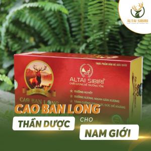 Cao Ban Long Sibiri 100gr - Bổ Máu, Gan Thận, Mạnh Gân xương, Đặc Biệt Tốt Cho Vợ Chồng Vô Sinh